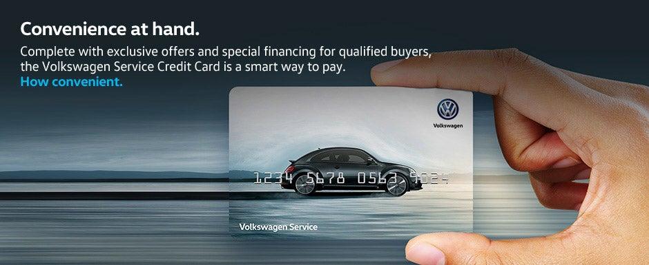 volkswagen service credit card mckinney vw